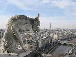 gargoyle notre dame paris view Were Going to Paris! (Travel Links & Ideas)