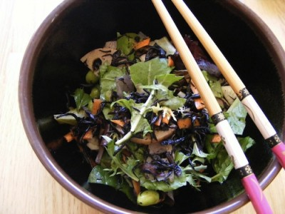 hijiki salad 400x300 10 Things That Make Me Happy {Blog Every Day in May}