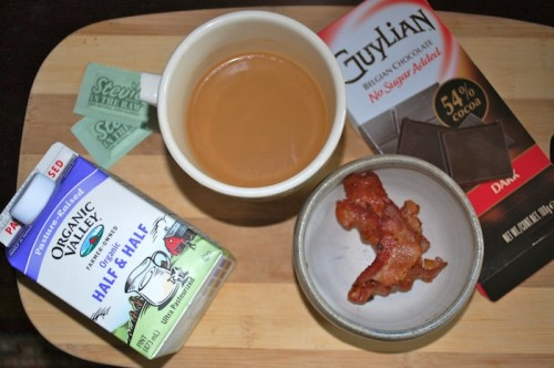 01 bacon chocolate coffee 500x332 A Better Breakfast? (+ Giveaway!)