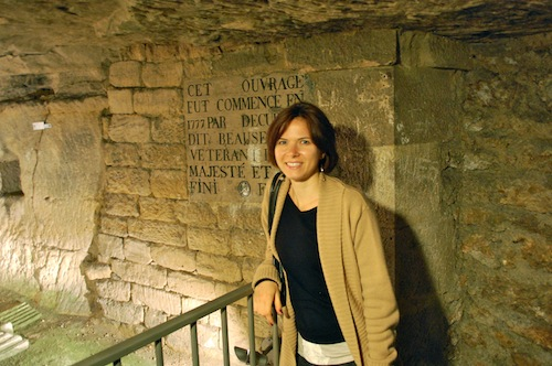 14 maggie catacombs Five Things Friday   from France!