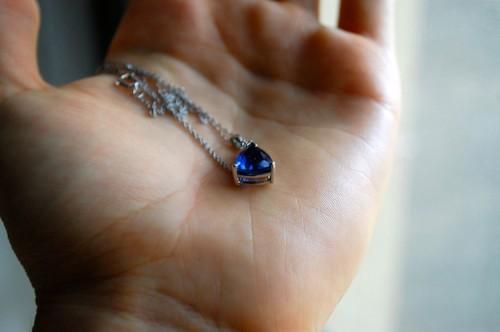 14 necklace 500x332 sapphire blue memories*