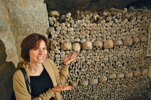 15 maggie catacombs Five Things Friday   from France!