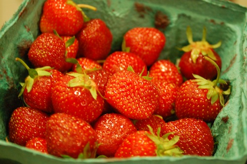 05 strawberries Strawberries and Cream   All Thats Missing Is the Blue!