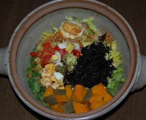 09 crazy kabocha seaweed salad 500x411 Best Healthy Recipes of 2011 from Salad Maggie