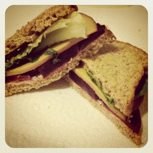 beet sandwich 500x500 Salads Schmalads... More Sandwiches Smandmiches!