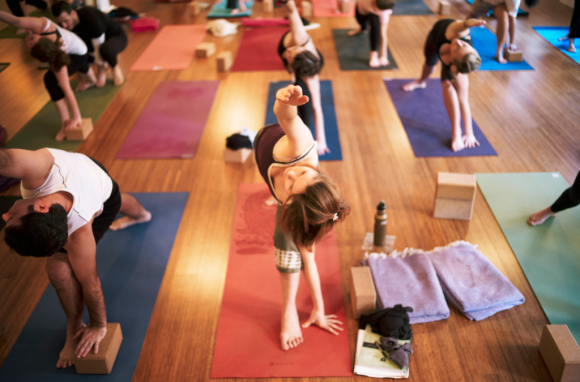 maggie yoga Humbled.