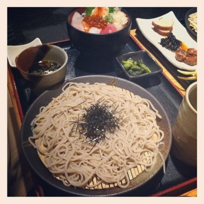bobby lunch sakagura 400x400 {food} Japanese Lunch @ Sakagura & Deep Thoughts on Seaweed!