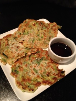 IMG 1201 buddha scallion pancakes 299x400 {WIAW} Back in the States! (What I Ate Wednesday)