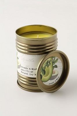 avocado mint candle anthropologie 266x400 Random December List.