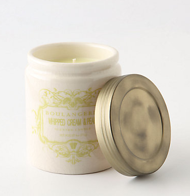 whipped cream pear candle anthropologie Random December List.