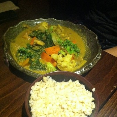 inspired vegetable curry souen instagram 400x400 Sister Visits & Souen Suppers