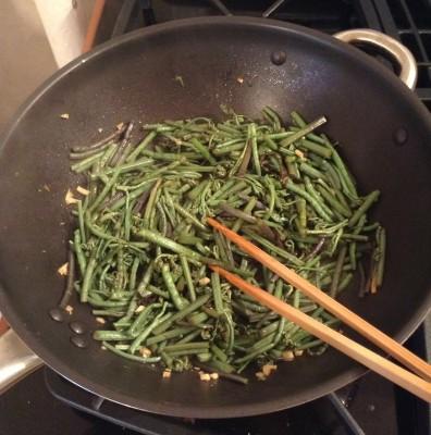 sauteed-bracken-fern-wok