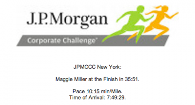 race time 400x215 JP Morgan Corporate Challenge: Race Recap
