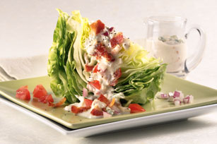 wedge salad College Reunions Recap