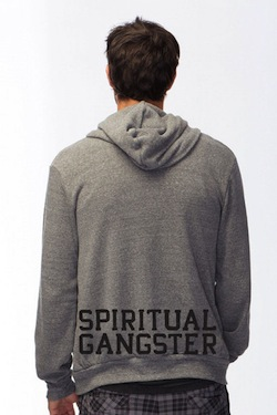 hoodie back spiritual gangster All I want for Christmas is...